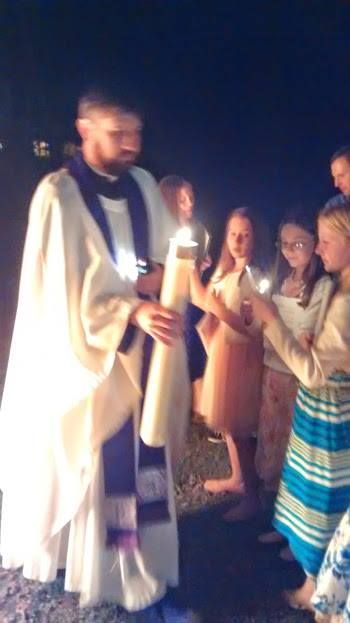 Easter Vigil 2015